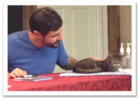 Mike with Bub at Signing Tender R Olson copy.jpg